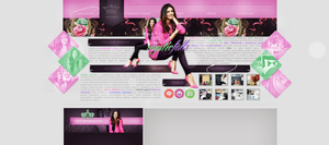 Ordered layout with Nina Dobrev by redesignbea