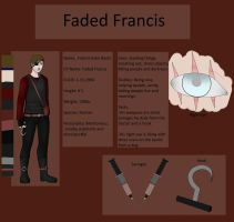 Faded Francis - Creepypasta Ref Sheet: FIXING INFO by Lost-Shattered-Heart
