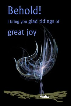 Glad Tidings of Great Joy by MarjorieB