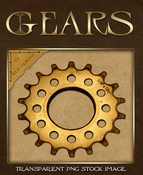Gear PNG Stock Image by Spiral-0ut