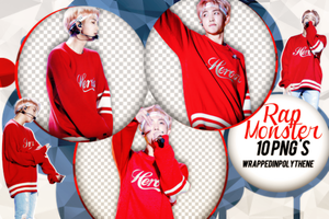 +Rap Monster|Pack png 258|WrappedInPolythene by WrappedInPolythene
