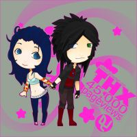 Vergil and Rie: Lovely 45000 by pinkx2
