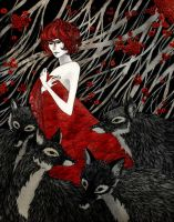 Wolf Woman by reneenault