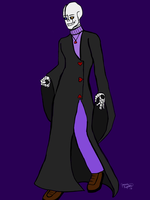 Garamond Gaster, Divide|talE by equiniangoddess