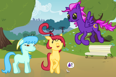 New to Ponyville by cayfie