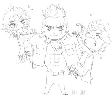 Do you even lift chocobro? by Bev-Nap