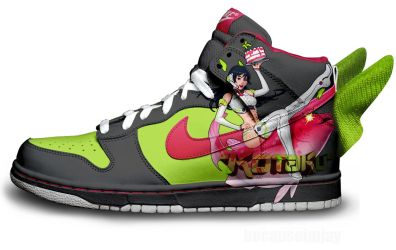Kotaku-Tan Nike Dunks by becauseimjay