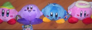 Kirby Plush Collection by 1Meh1