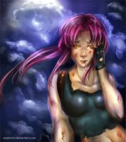 Revy's  Lament by Elowly