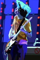 Jonny Greenwood Faux Vector by ErebusX