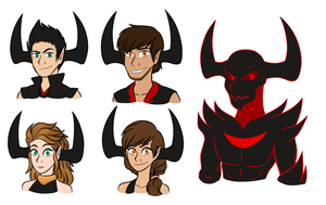 Demon Team by Tamersworld