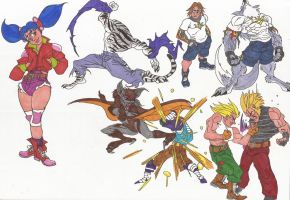 Bloody Roar_Doodles09_June2012 by AlexBaxtheDarkSide