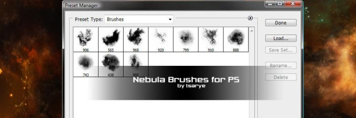 Resource Pack 4 Nebula Brushes by GlennClovis