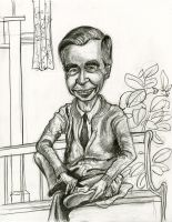 Mister Rogers by Caricature80