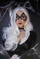 Black cat by Helen-Stifler