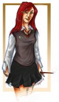 Lily the Gryffindor by cayxess
