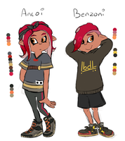 Ancoi and Benzoni by Camichuriin