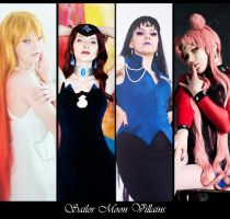 Sailor Moon Villians by l-Saya-l