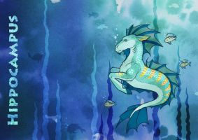 Hippocampus by Beffana