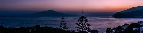 Bay of Naples Dawn by TarJakArt