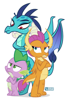 The Dragons Three by dm29
