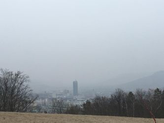 A foggy landscape in Jena by JJB22052000