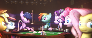 Poker [Timelapse] by Lux-The-Pegasus