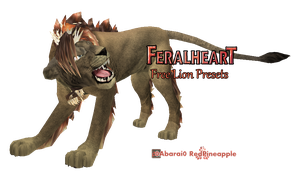 FeralHeart :: April 21 - LION by 0Abarai0