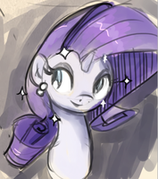 Rarity is fab! by Stupchek