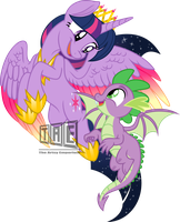 Come and Fly With me - Vector by TheArtsyEmporium