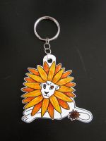 Sunlion - Keychain by Squashbee