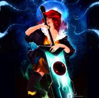 Transistor Red by GemmaQw