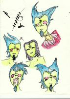 Mr.Croach faces by torolily01