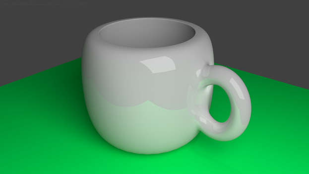 Cup - First real Blender usage (Updated) by RedshiftTheFox