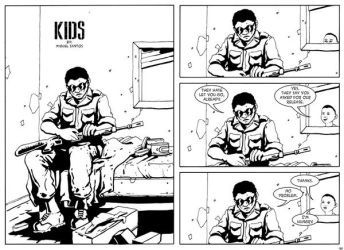 Kids, new chapter of Ermal webcomic by pictishscout
