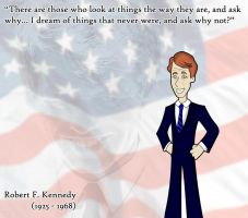 Robert Kennedy by Spaceman-Chris