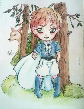 Forest Chibi by Voiii