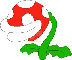 Super Mario - Piranha Plant by SuperMarioFan65