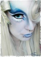 Winter-Themed Make-Up by CatherineWarner