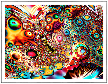 Psyche Spore Circuit by OttoMagusDigitalArt