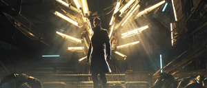 Deus Ex:MD, Jensen /Icarus/ by limb0ist