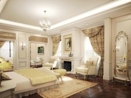 Master bedroom by kasrawy