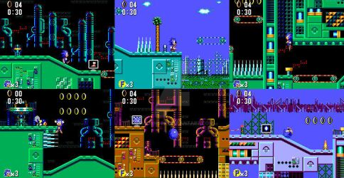 Metallic Madness (Sonic 1 Master System Version) by Chacanger