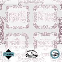 Romantic Frames Brush Set by Romenig