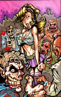 Zombie Happy Meal by skulljammer