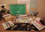 My watercolors tools by Shaimaaelshatter