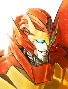 MTMTE Rodimus Portrait by Uniformshark