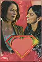 Sanvers valentines day card by watchall