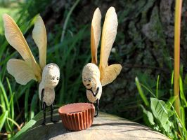 The Peanut Fairies Make a Grisly Discovery by DavidMishra
