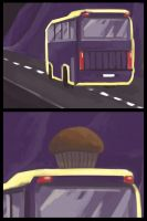 Once Upon a Day - Purple-bus scene by PapaVego